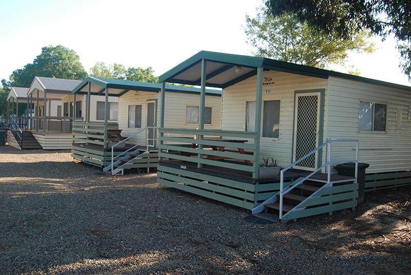 External 2 & 3 Bedroom Cabins