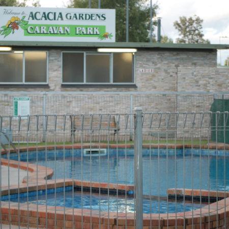 Pool & Entrance